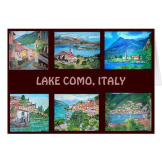 Lake Como, Italy - Greeting Card