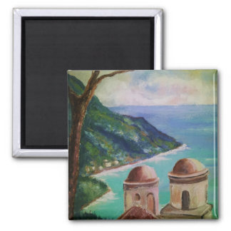 Lake Como, Italy Square Magnet