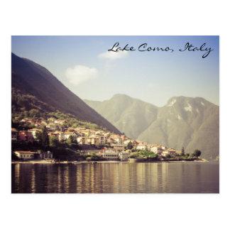 Lake Como, Italy, Postcard