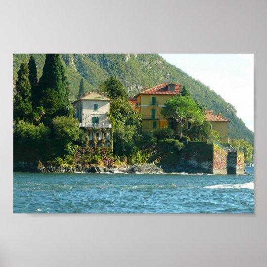 Lake Como - Ivy & Moss Poster