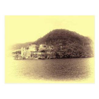 Lake Como Villa Balbianello Postcard