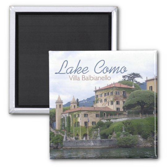 Lake Como Villa Balbianello Travel Photo Magnet