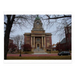 Lake County Courthouse in Winter Postcard