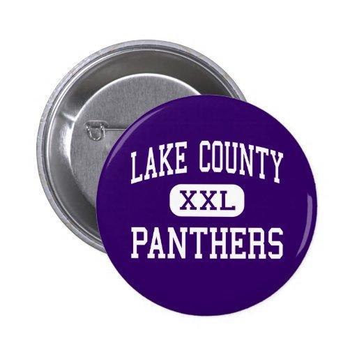 Lake County - Panthers - Senior - Leadville Pinback Button