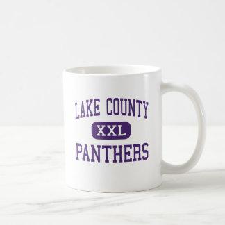 Lake County - Panthers - Senior - Leadville Basic White Mug