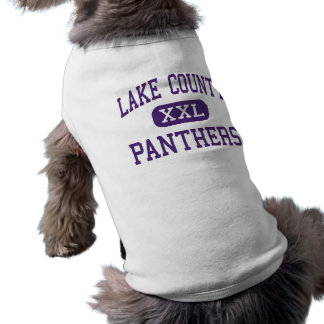 Lake County - Panthers - Senior - Leadville Dog Clothes
