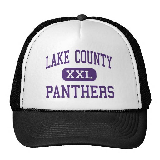 Lake County - Panthers - Senior - Leadville Trucker Hats