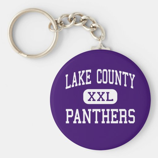 Lake County - Panthers - Senior - Leadville Key Chains