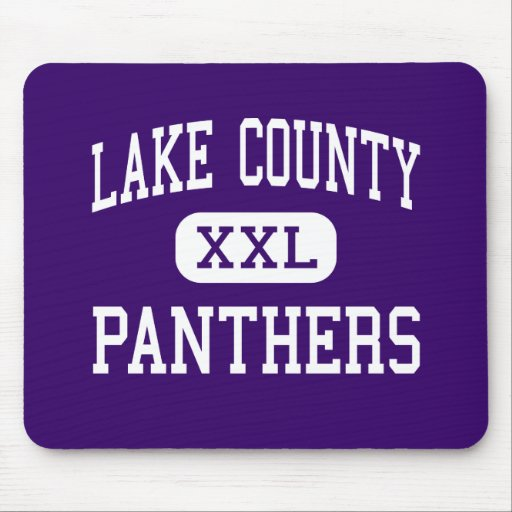 Lake County - Panthers - Senior - Leadville Mouse Pad