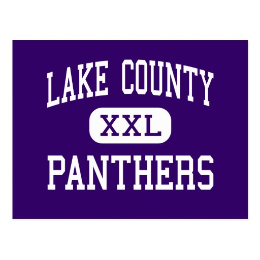 Lake County - Panthers - Senior - Leadville Postcard