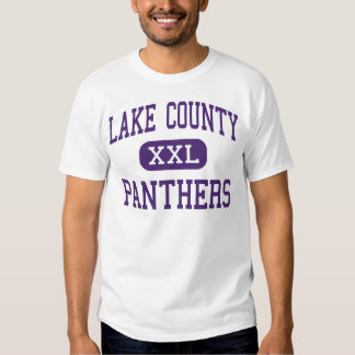 Lake County - Panthers - Senior - Leadville T Shirt