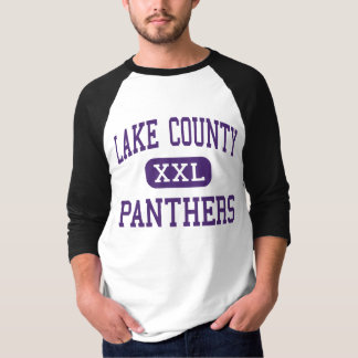 Lake County - Panthers - Senior - Leadville T-shirts