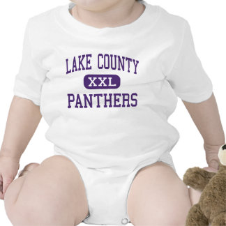 Lake County - Panthers - Senior - Leadville Baby Bodysuit