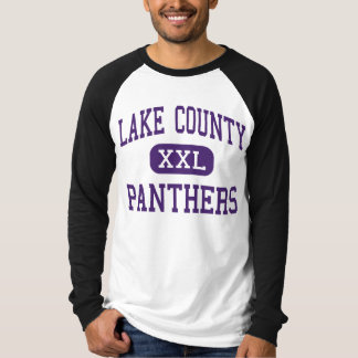 Lake County - Panthers - Senior - Leadville Tshirts