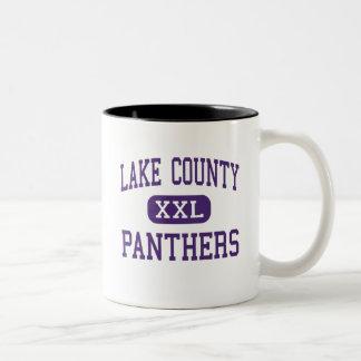 Lake County - Panthers - Senior - Leadville Two-Tone Mug