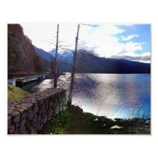 Lake Crescent Olympic National Park Photographic Print