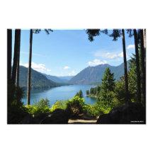 Lake Cushman - Olympic Peninsula Beauty! Photo Print