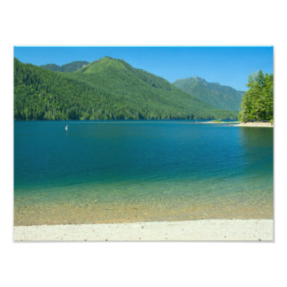 Lake Cushman Summer Print Photo Art
