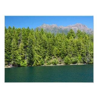 Lake Cushman Summer Print Photo