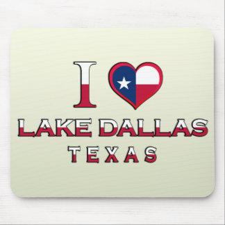 Lake Dallas, Texas Mousepads