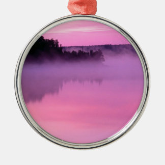 Lake Dawn Ensign Boundary Waters Canoe Area Christmas Ornament