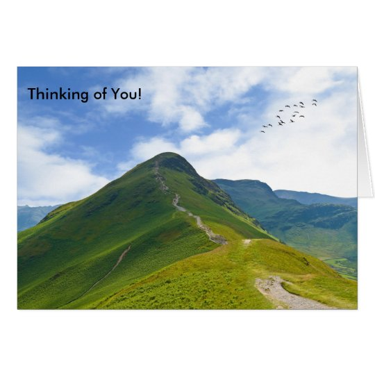 Lake District image for greeting card