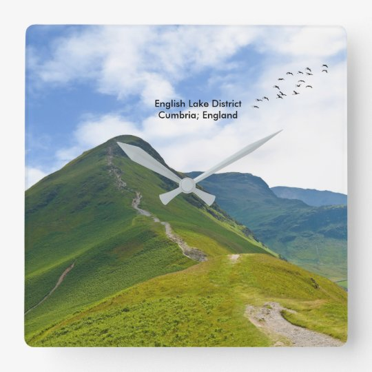 Lake District image for Large wall clock