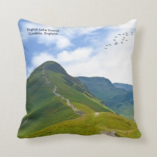 Lake District image for Throw Cushion