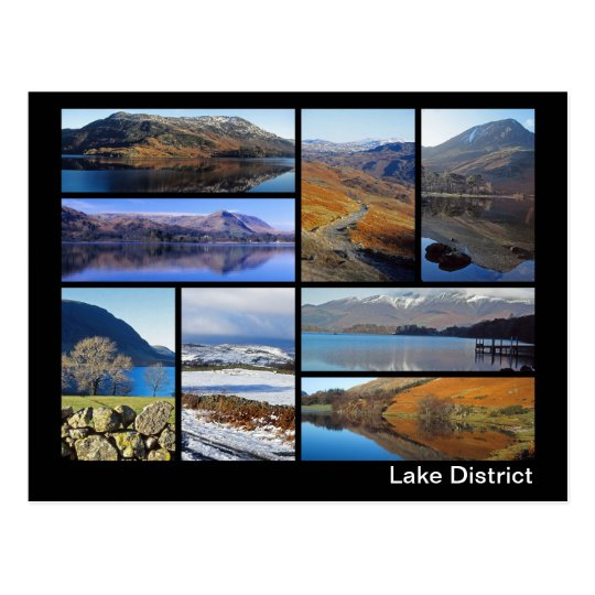 Lake District multi-image 3 Postcard