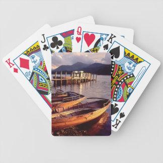 Lake District Playing Cards. Bicycle Playing Cards