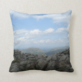Lake District View Throw Pillow