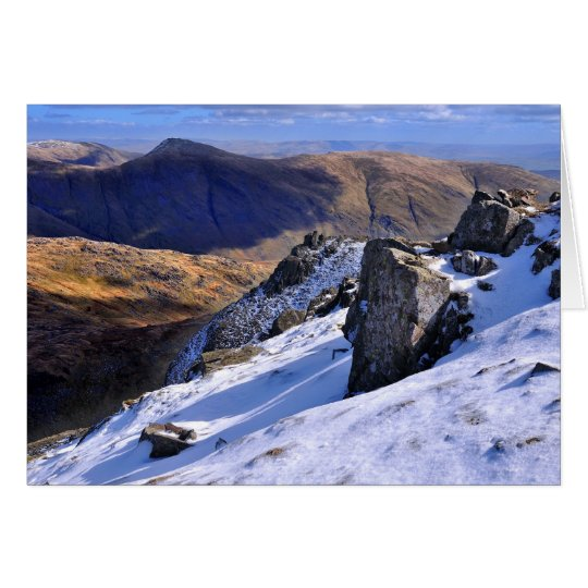 Lake District Winter - view from Red Screes
