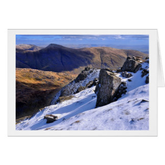 Lake District Winter - view from Red Screes Card