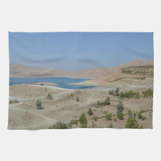 Lake Ducan3 Tea Towel