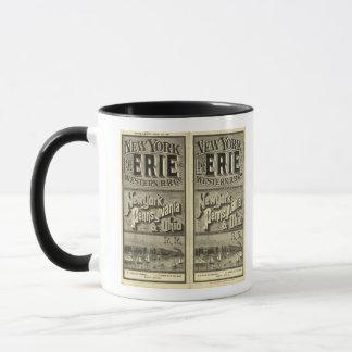 Lake Erie and Western Railroad Mug