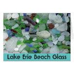 Lake Erie Beach Glass Greeting Card