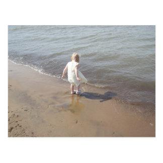 Lake Erie Beach Postcard