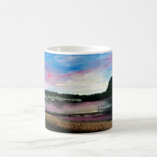 Lake Erie Harbour Painting Mug