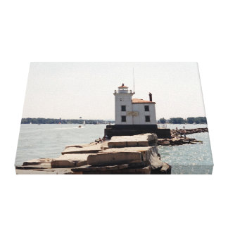 Lake Erie Lighthouse Gallery Wrapped Canvas