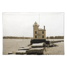 Lake Erie Lighthouse Placemat