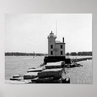 Lake Erie Lighthouse Poster