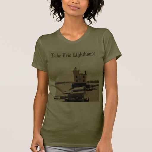 Lake Erie Lighthouse Tshirts