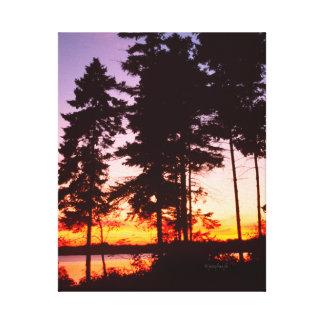 Lake Erie Ontario Canada jjhelene Canvas Canvas Print