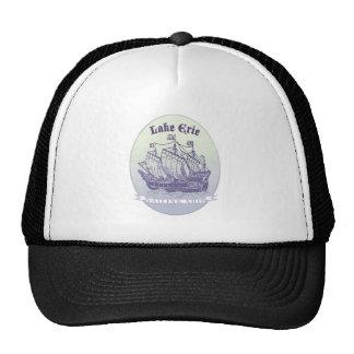 Lake Erie Sailing Ship Cap