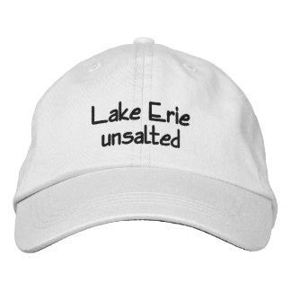 Lake Erie - unsalted Embroidered Cap