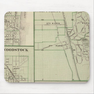 Lake Forest, Elgin, Waukegan, Woodstock Mouse Pad