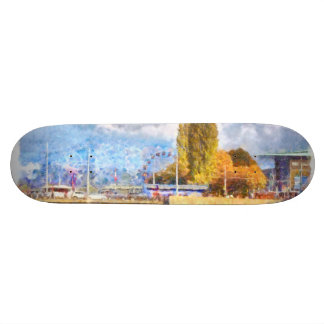 Lake front fun in Luzern Skate Boards