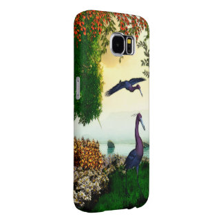 Lake Front Nature Scene Samsung Galaxy S6 Cases