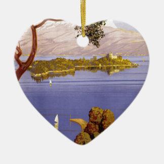 Lake Garda Christmas Ornament
