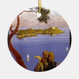 Lake Garda Christmas Ornament